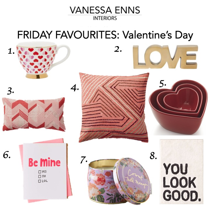 Friday Favourites Valentine's Day
