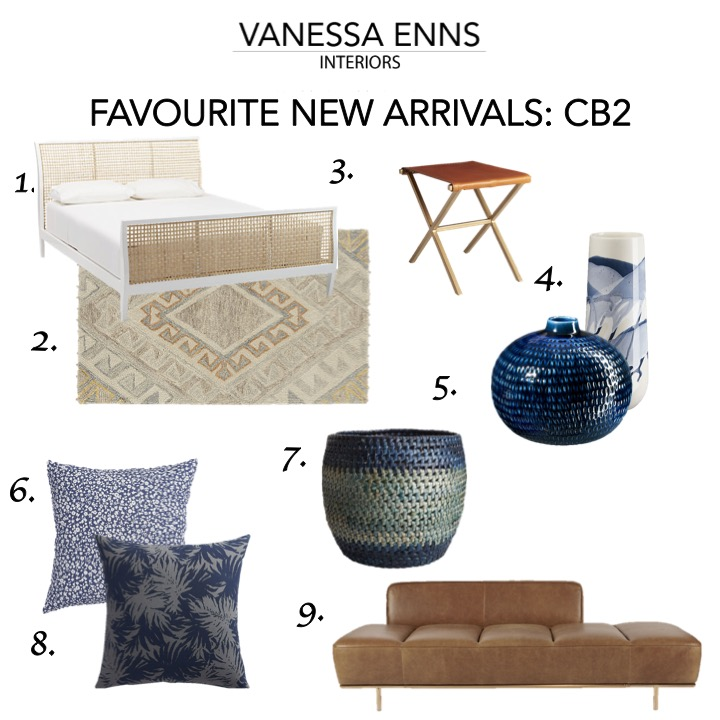 Vanessa Enns Interiors New Arrivals CB2
