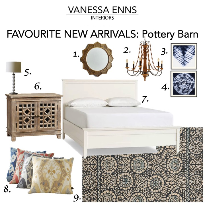 Vanessa Enns Interiors New Arrivals Pottery Barn
