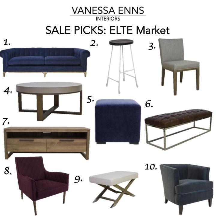Vanessa Enns Interiors Sale Picks Elte Market
